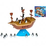 Hra Pirátska loď s balancujícími tučniakmi v krabičke