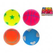 Springball 6,5cm 4barvy 10ks v PDQ