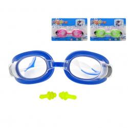 Plavecké brýle 16cm 3barvy na kartě