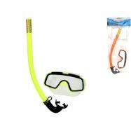 Potápěčská sada brýle14cm se šnorchlem 33cm 2barvy v sáčku