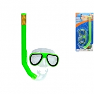Potápěčská sada brýle 14,5cm se šnorchlem 34cm na kartě