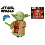 Star Wars R/C Jumbo Yoda nafukovací 67cm plná funkce na baterie se zvukem v krabičce