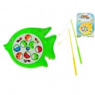 Hra ryby 19x15cm na batérie 2barvy na karte