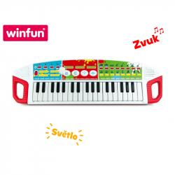 Pianino muzyczne z 37 klawiszami ze światłem i dźwiękiem