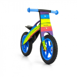 Detské odrážadlo bicykel Milly Mally King Rainbow