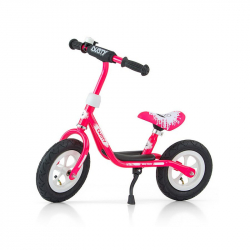 Detské odrážadlo bicykel Milly Mally Dusty pink 10