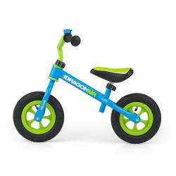 Detské odrážadlo bicykel Milly Mally Dragon Air green