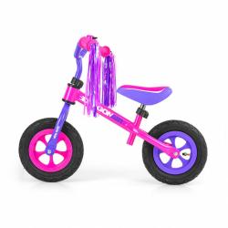 Detské odrážadlo bicykel Milly Mally Dragon Air pink