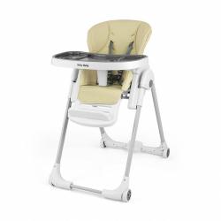 Jedálenská stolička Milly Mally Milano beige