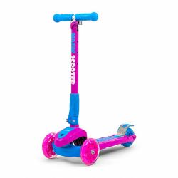 Dětská koloběžka Milly Mally Magic Scooter pink-blue