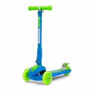 Detská kolobežka Milly Mally Magic Scooter blue-green