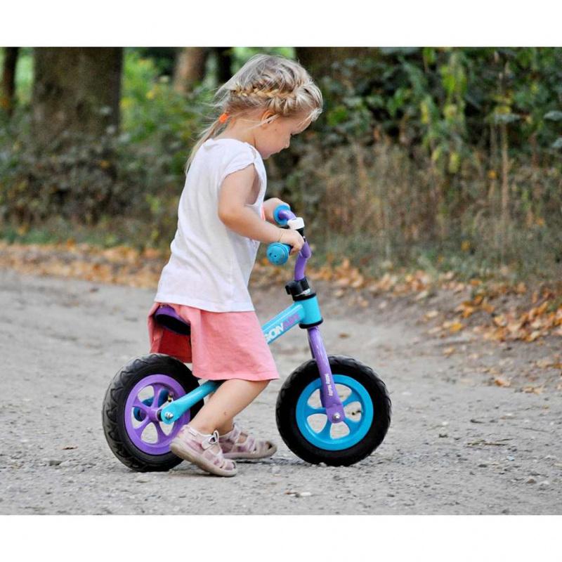 Detské odrážadlo bicykel Milly Mally Dragon Air mint
