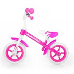 Biegowy Running Bike Dragon z hamulcem pink