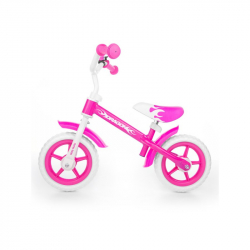 Detské odrážadlo bicykel Milly Mally Dragon pink