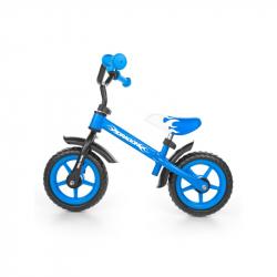 Dětské odrážedlo kolo Milly Mally Dragon blue