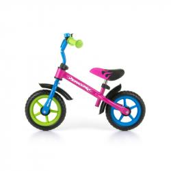 Detské odrážadlo bicykel Milly Mally Dragon multicolor