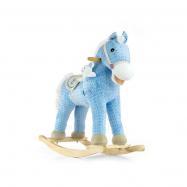 Houpací koník s melodií Milly Mally Pony modrý
