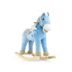 Hojdací koník s melódiou Milly Mally Pony modrý