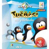 Dětské hlavolamové smart hry - Tučňáci na pochodu