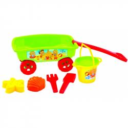 Vozíček so sadou na piesok