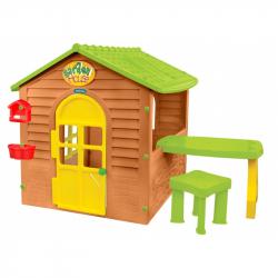 Zahradní domeček se stolkem a židličkou