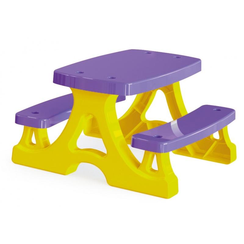 Piknikový stolek + lavičky
