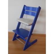 Rosnące krzesełko JITRO KLASIK niebieskie