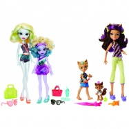 Mattel Monster High sourozenci monsterky 2 ks