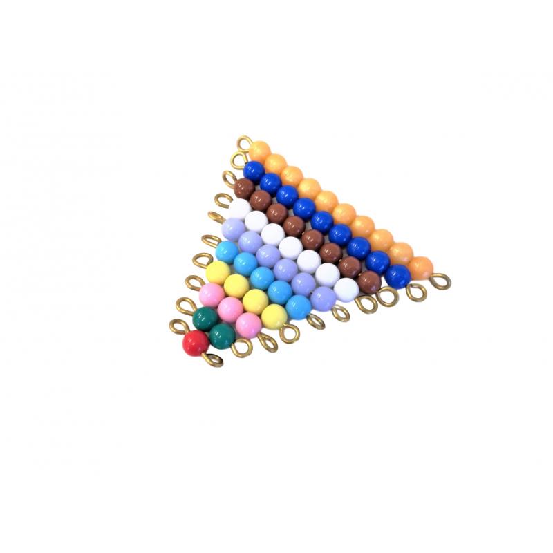 Barevné korálkové schody (1-9)