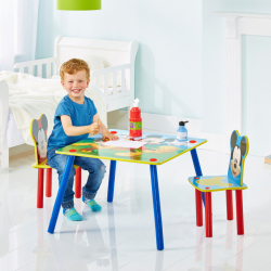 Detský stôl s stoličkami Myšák Mickey