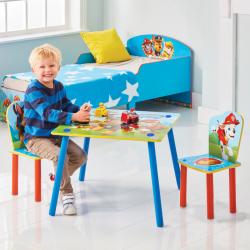 Detský stôl s stoličkami Tlapková Patrola