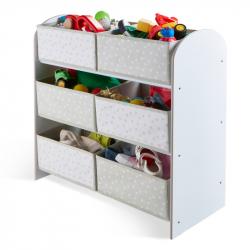 Organizér na hračky Bíly