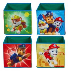 Dětské úložné boxy Tlapková Patrola