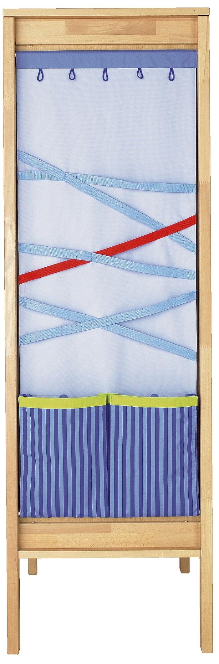 Textilní kapsář ke skříním Haba Matti 8389 modrý