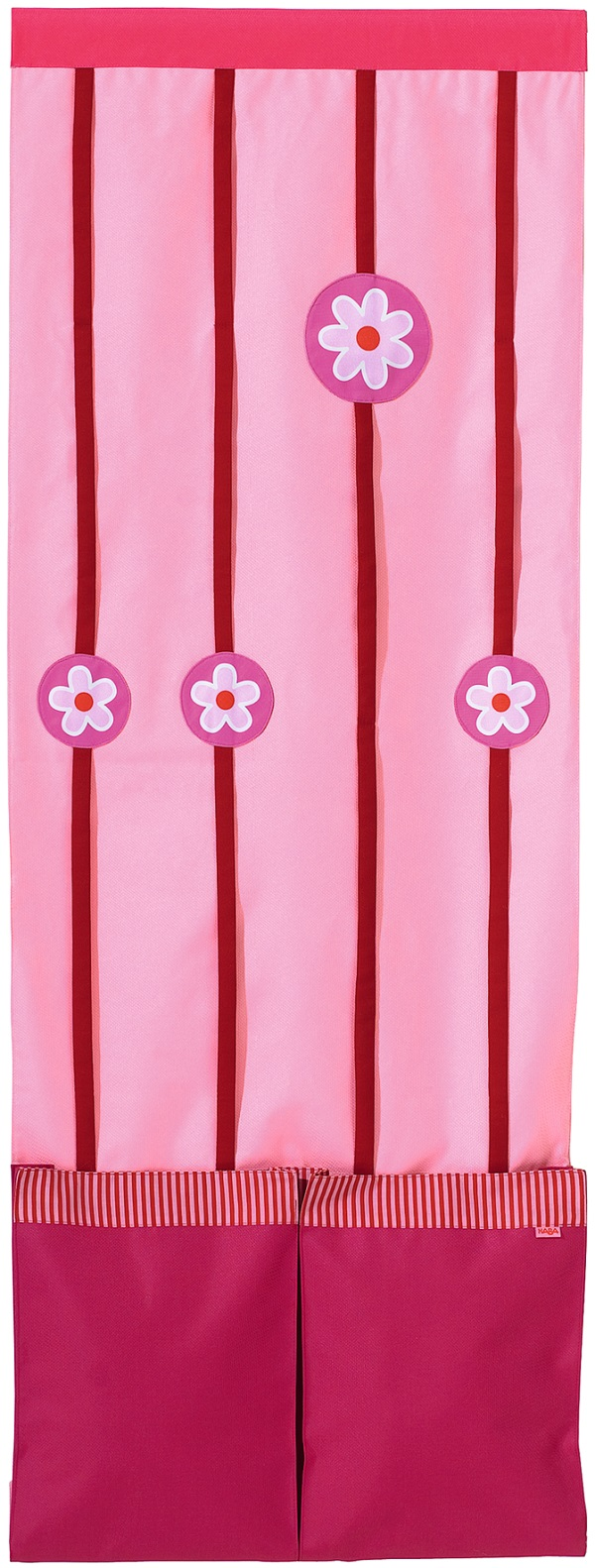 Textilní kapsář ke skříním Haba Matti 8389 růžový