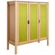 Šatní skříň Haba Matti 8397 zelená