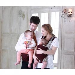 NUVOLINO Nosič na dítě Active Hipseat, Brown