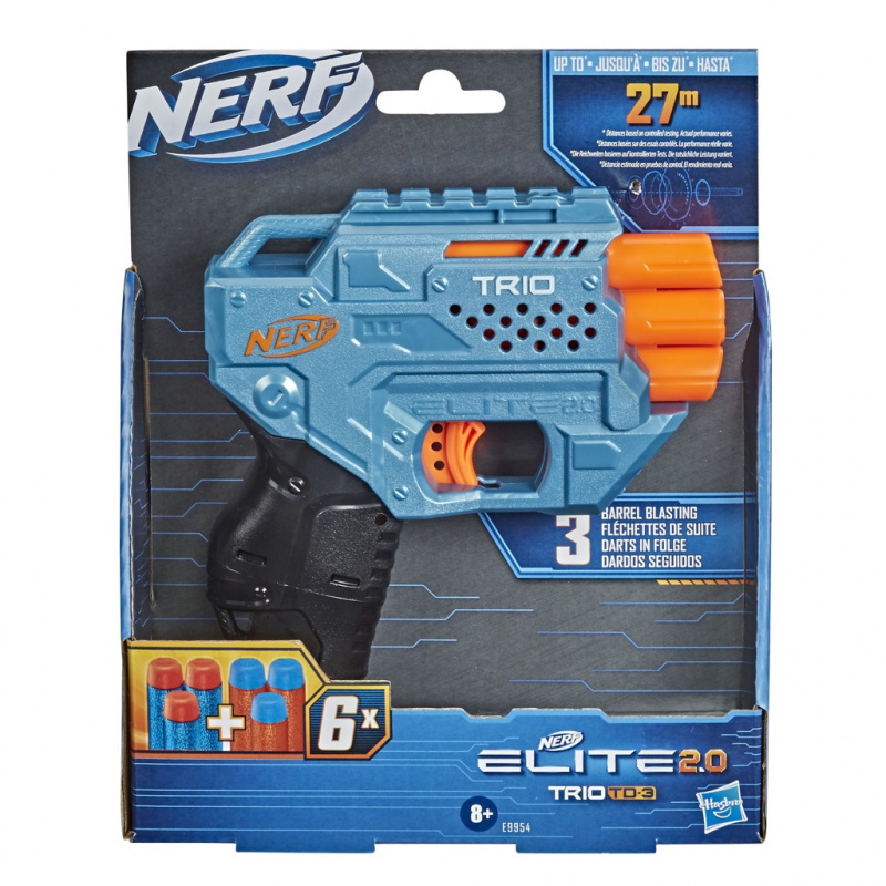 Nerf Trio TD-3 pištoľ