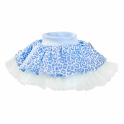 Kojenecká suknička s tylovou spodničkou New Baby Leopardík modrá