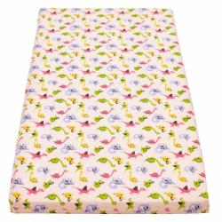 Detská penový matrac New Baby 120x60 ružová - rôzne obrázky