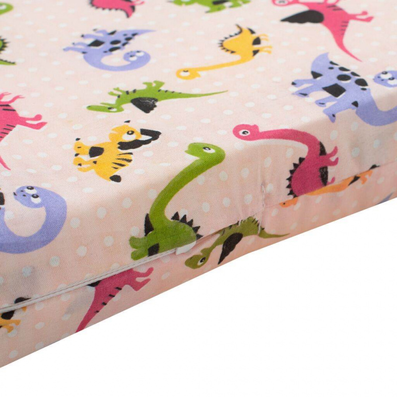 Dětská pěnová matrace New Baby 120x60 růžová - různé obrázky