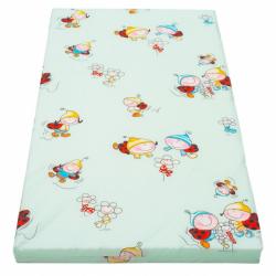 Detská penový matrac New Baby 120x60 zelená - rôzne obrázky