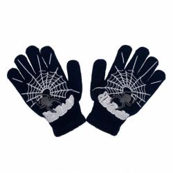 Detské zimné rukavičky New Baby s pavúkom čierne