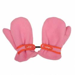 Detské zimné rukavičky New Baby fleecovej ružové