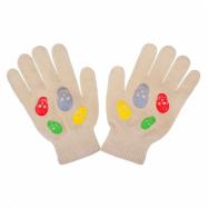 Detské zimné rukavičky New Baby Girl béžove