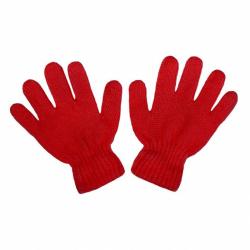 Detské zimné rukavičky New Baby červené