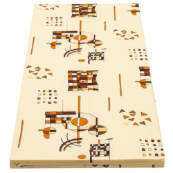 Detská penový matrac New Baby 120x60 žltá - rôzne obrázky