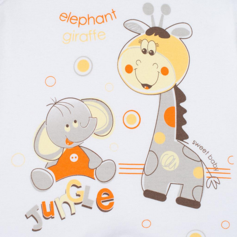 Soupravička 4-dílná Žirafka a Slon