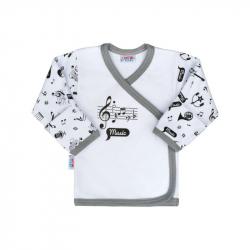 Bawełniana koszulka niemowlęca New Baby Music
