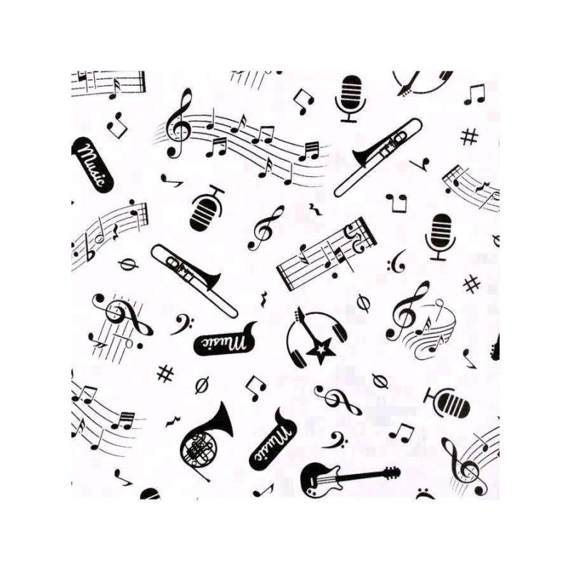 Kojenecké bavlněné polodupačky New Baby Music